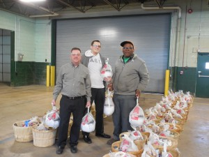 Employees Ed McCrossan, Jesse Slawinski, and Mark Jackson