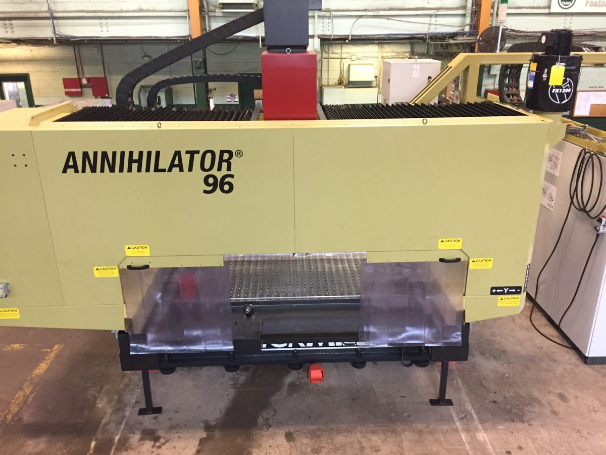 Sandmeyer Steel Company Now Offering Quickmill Annihilator Cutting Services