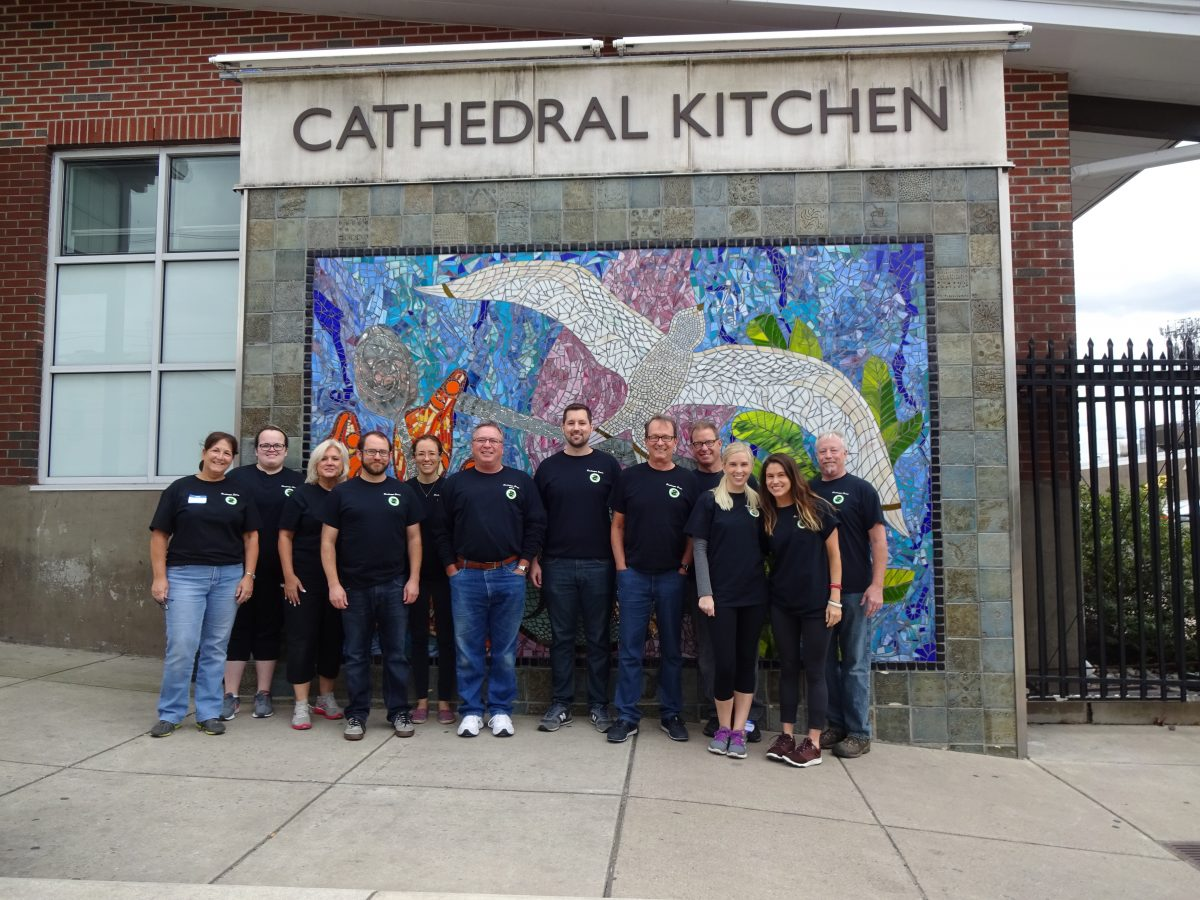 Sandmeyer Serves at Cathedral Kitchen
