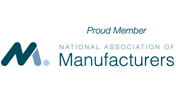 Proud Member of the National Association of Manufacturers