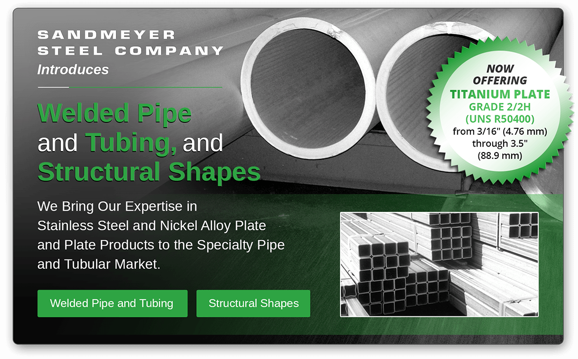 Alloy 825 Corrosion Resistant Nickel Alloy Plate - Sandmeyer Steel